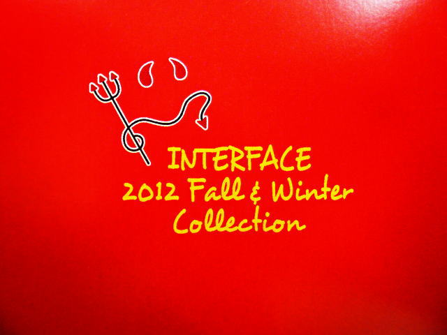 INTERFACE 2012 fall&winter collection