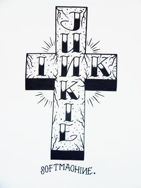 SOFTMACHINE DECADE OF SOFTMACHINE INK JUNKIE-T
