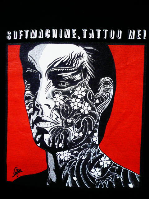 SOFTMACHINE DECADE OF SOFTMACHINE TATTOO ME-T