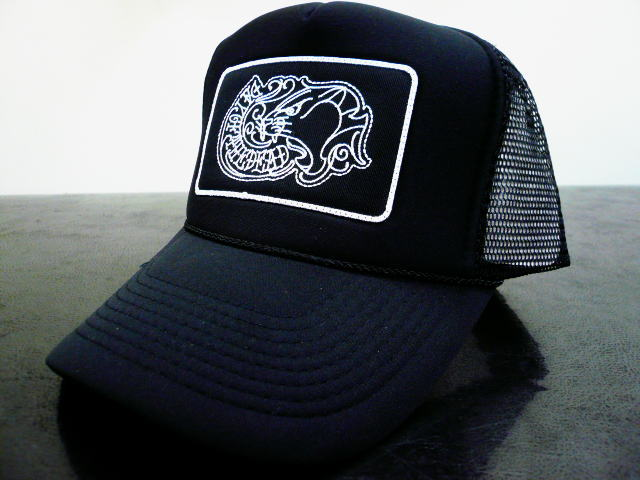 DAY OF THE DEAD TRADITIONAL MESH CAP PANTHER
