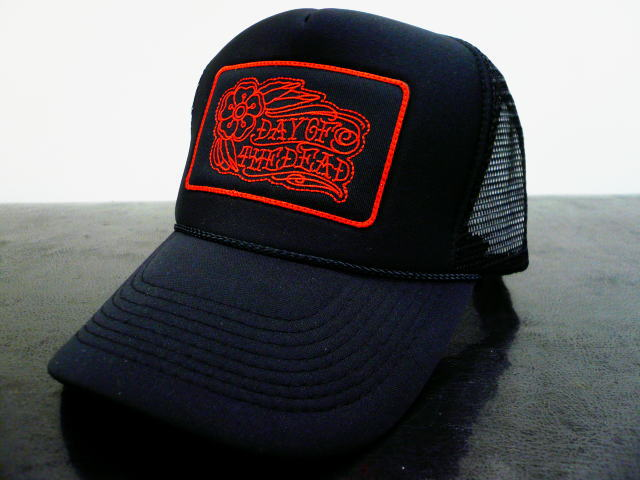 DAY OF THE DEAD TRADITIONAL MESH CAP ROSE