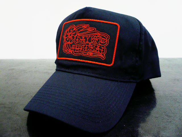 DAY OF THE DEAD TRADITIONAL TWILL CAP ROSE