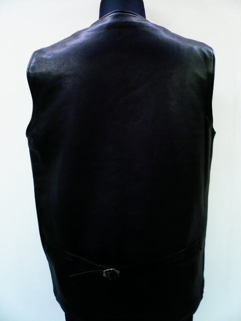 GANGSTERVILLE G.V.LEATHER VEST