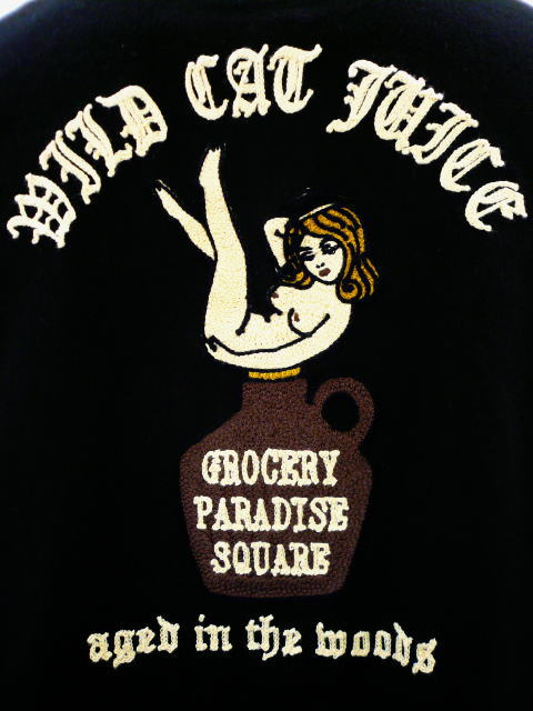 GANGSTERVILLE GROCERY SHIRTS-WILD CAT JUICE