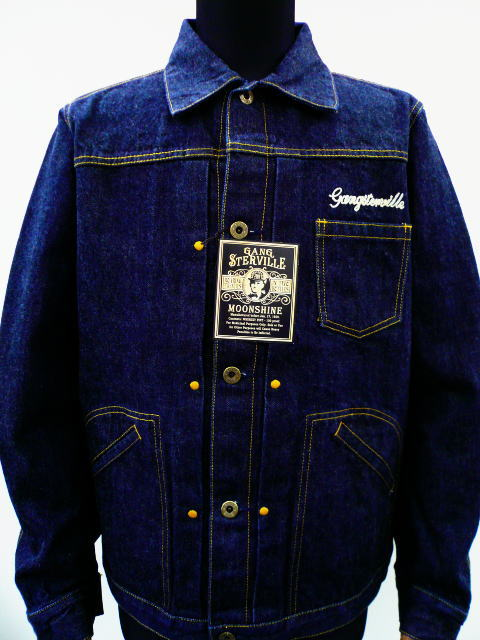 GANGSTERVILLE G.V.DENIM JKT-1 WASH
