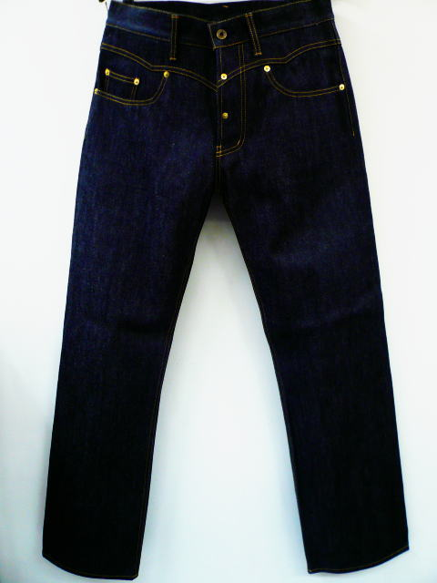 GANGSTERVILLE G.V.DENIM PANTS-NO WASH