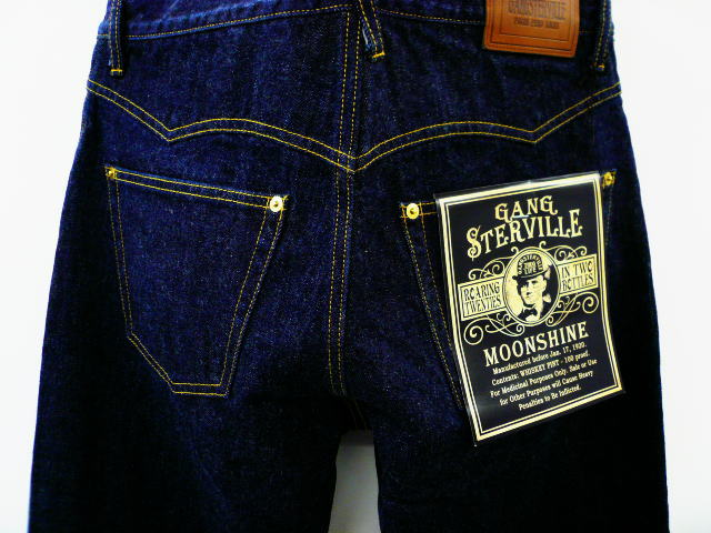 GANGSTERVILLE G.V.DENIM PANTS-1 WASH