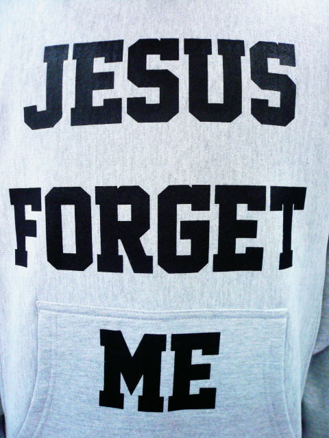 INTERFACE JESUS FORGET ME PULL OVER PARKA