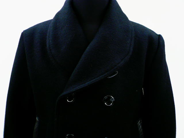 GANGSTERVILLE G.V.SHAWL PEA COAT