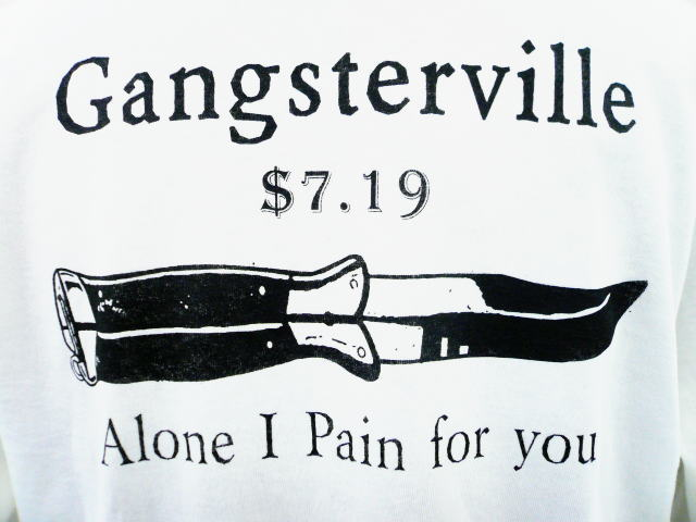 GANGSTERVILLE Alone I Pain for you