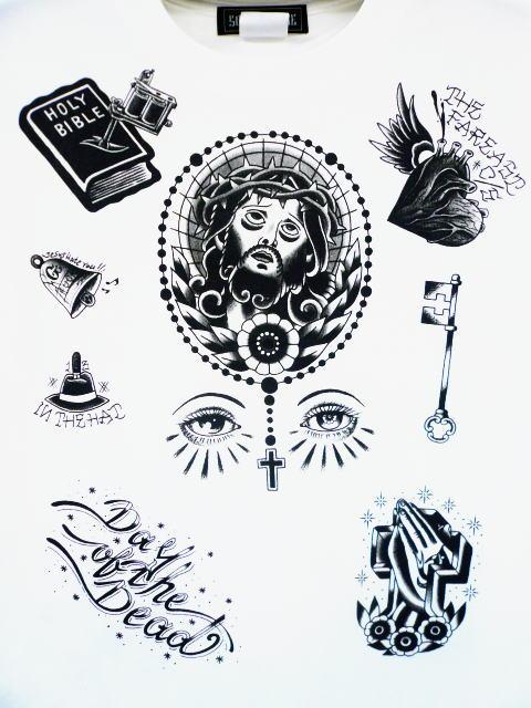 SOFTMACHINE×DAY OF THE DEAD 5TH ANNIVERSARY RELIGION-T