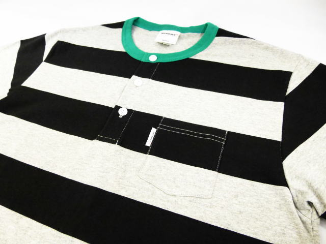 INTERFACE BORDER HENRY NECK T-SH