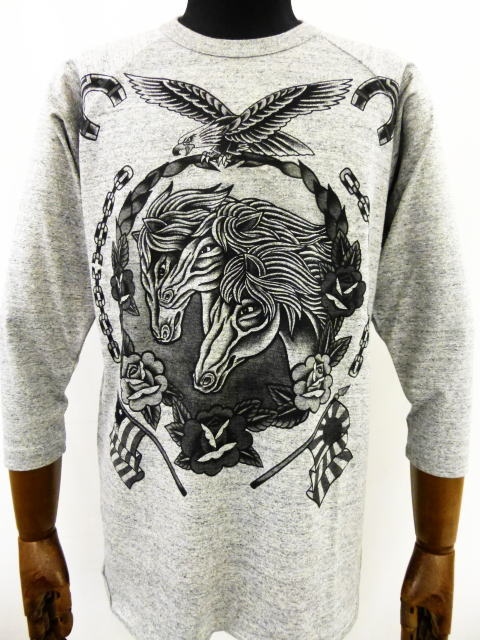 SOFTMACHINE PHARAOH HORSES RAGLAN