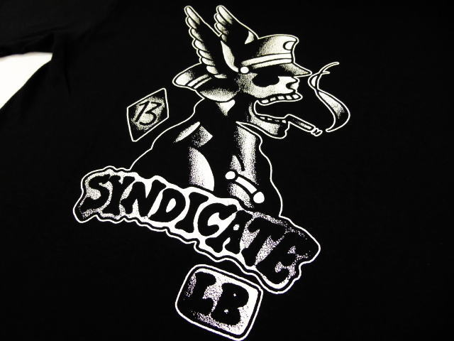 SYNDICATE BARBER SHOP HELL RIDER-T