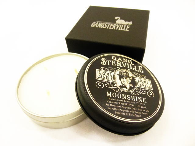 GANGSTERVILLE MOON SHINE CANDLE God Ville