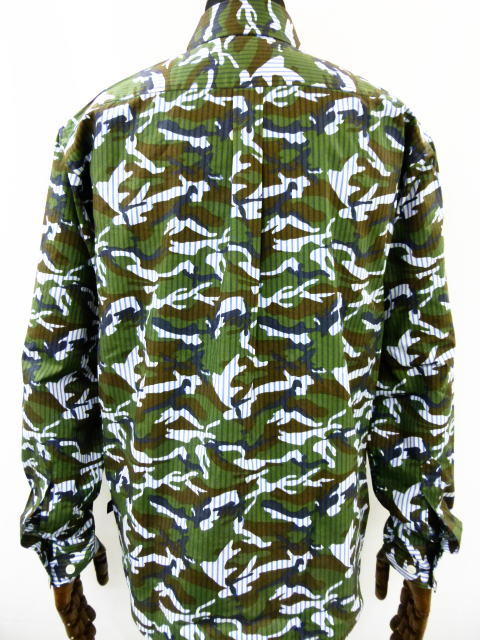 INTERFACE BLACK HEART STRIPE CAMO B.D SH