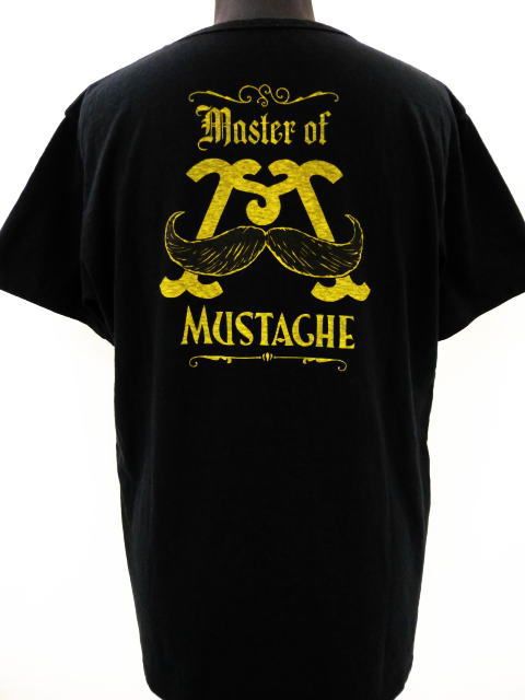 MASTER OF MUSTACHE BACK LOGO-T
