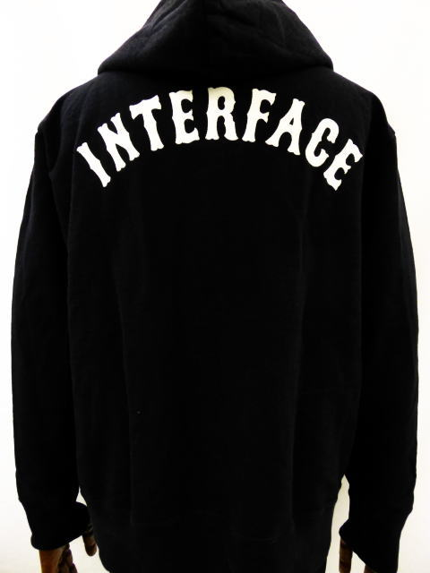 INTERFACE LETTERED FULL ZIP PARKA