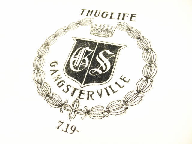 GANGSTERVILLE CREST