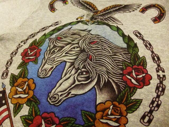 SOFTMACHINE PHARAOH HORSES SWEATER