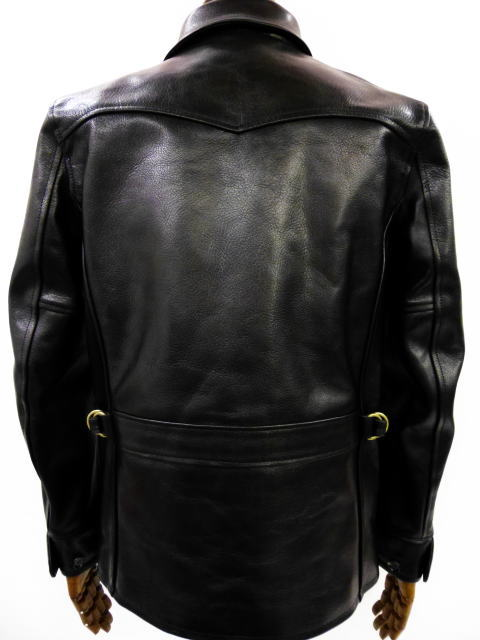 GANGSTERVILLE 30'S CAR COAT-GOAT SKIN