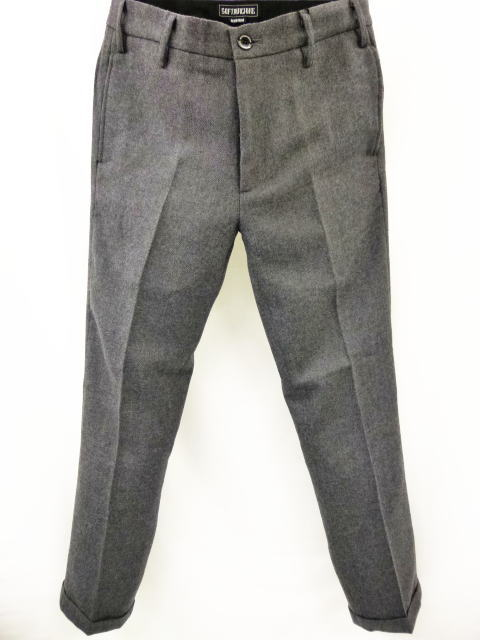 SOFTMACHINE LAVEY WOOL PANTS