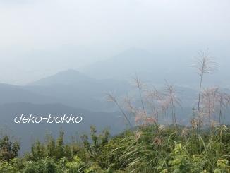 白木山 山頂風景