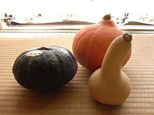 かぼちゃ3種