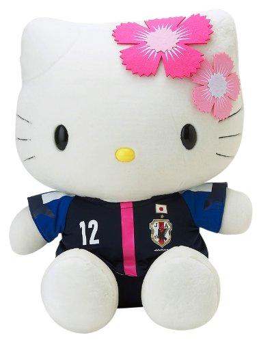 ハローキティ×サッカー日本代表女子 特大ぬいぐるみ