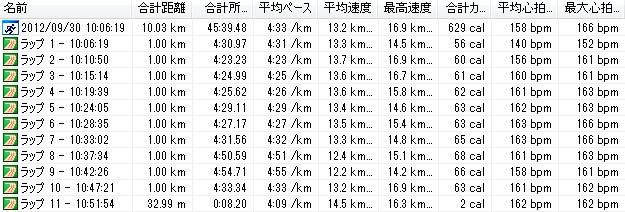 2012y09m30d_月例川崎マラソン、10km