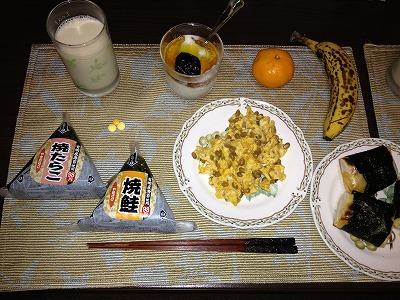 20121125-32thつくば-朝飯