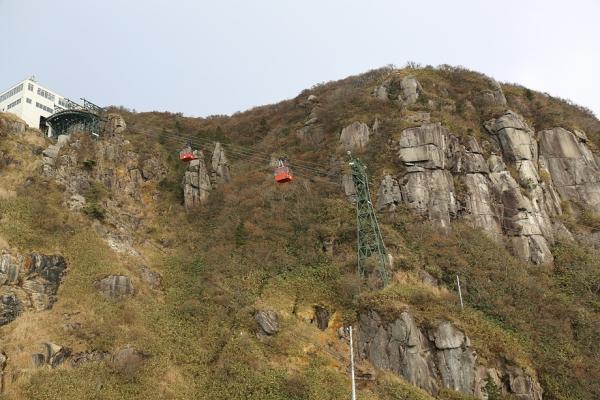 大黒岩からロープウェー