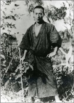 どんざを着た木田金次郎
