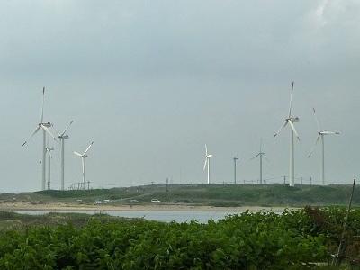 風力発電いっぱい♪