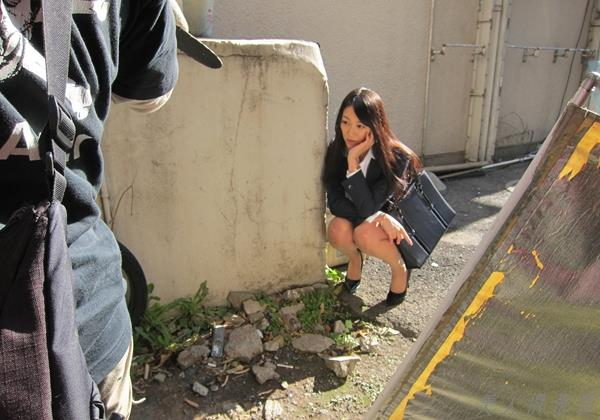 AV女優 西野翔 美人でエッチな制服OLエロ画像80枚 まんこ  無修正 ヌード クリトリス エロ画像b006a.jpg