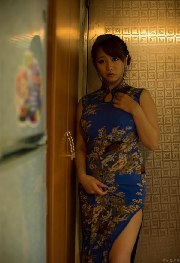 白石茉莉奈 チャイナドレスの人妻エロ画像75枚の40枚目