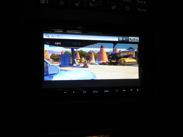マスタングへカーナビ取付 iPodの映像もキレイに表示