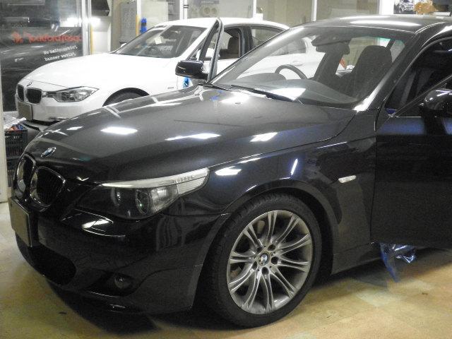 BMW5シリーズ(E60)への地デジ取付(DVDチェンジャー追加)