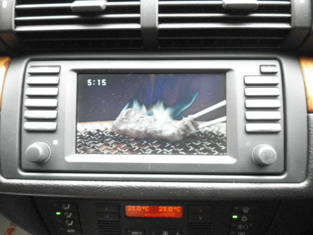 BMW X5(E53型)で地デジを観れます。