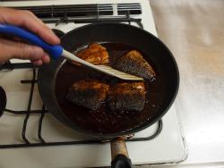 さばのソース煮15