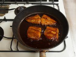 さばのソース煮17