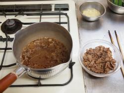 牛肉とおくらのしぐれ煮風12