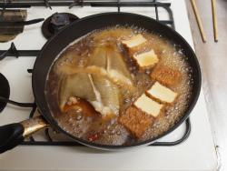 キツネカレイの煮付け18