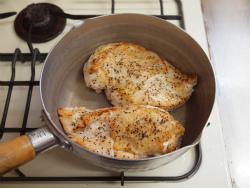 蒸し鶏ごまマスタードソース07