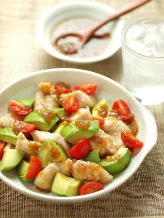 鶏むね肉とアボカドのサラダ風16
