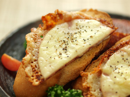 焼きチーズトースト26