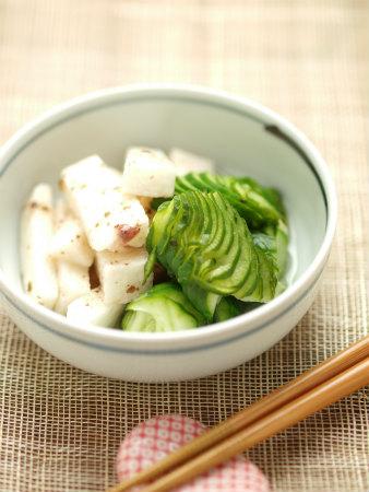 しいら西京焼き長芋胡瓜酢24
