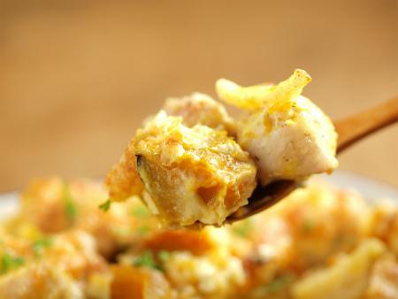 鶏とかぼちゃのさっぱりグラタン41