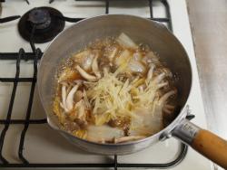 煮汁の再利用、白菜煮12
