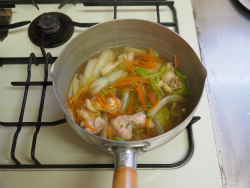 白菜煮込み和風ラーメン13